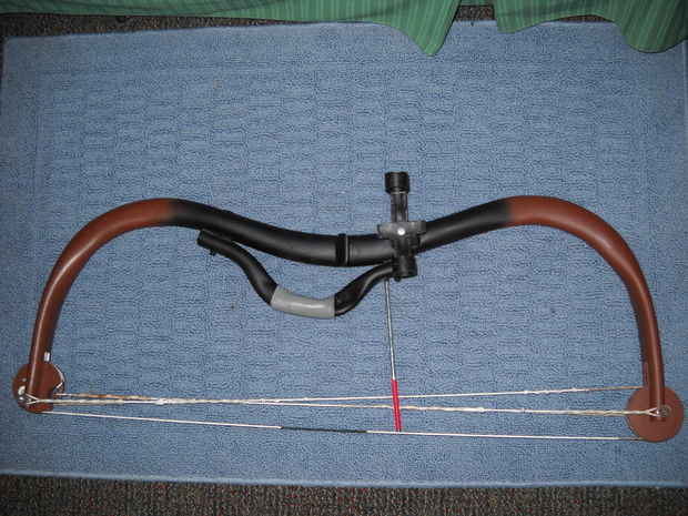 DIY Weapons: Compound Bow Made Of PVC Pipe