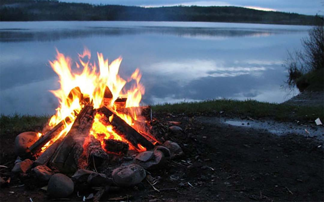 how to make campfire in wilderness