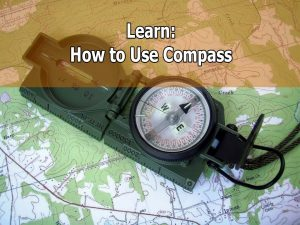 How to use compass