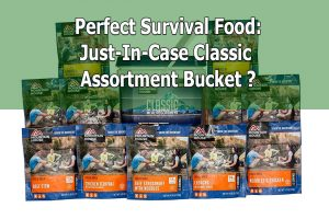 Review of Mountain House Just-In-Case Classic Assortment Bucket
