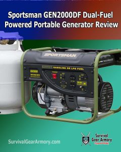 Sportsman GEN2000DF Dual-Fuel Powered Portable Generator Review