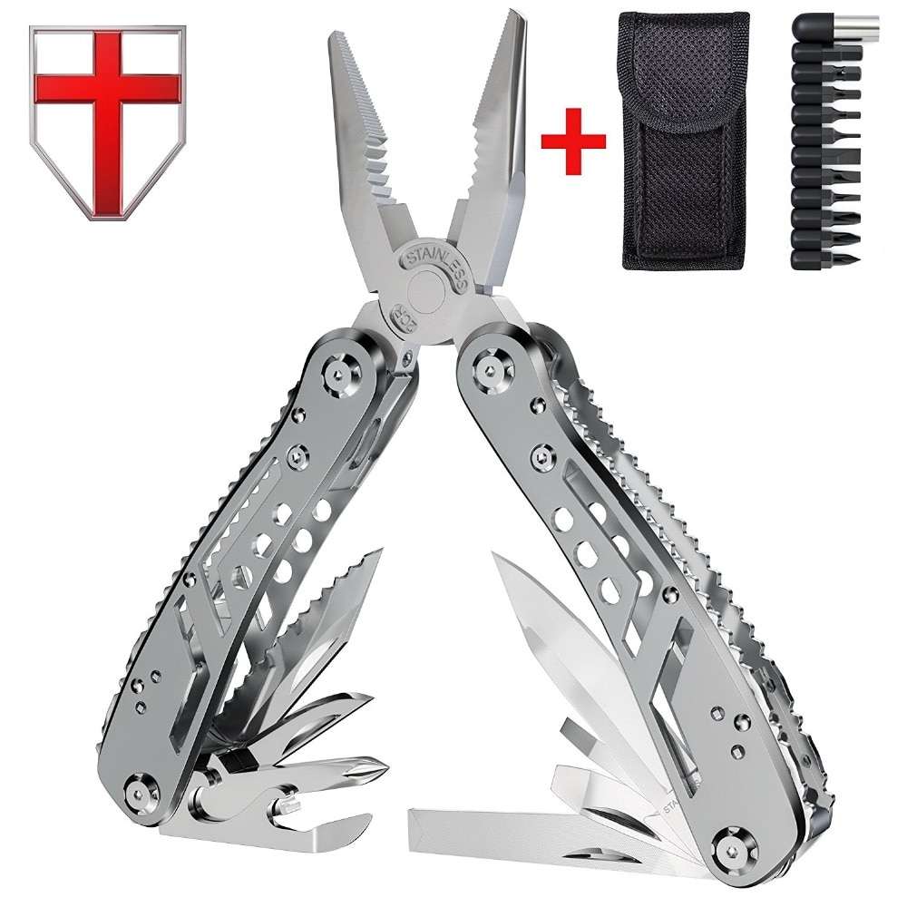 24 In One Edc Multitool With Mini Tools